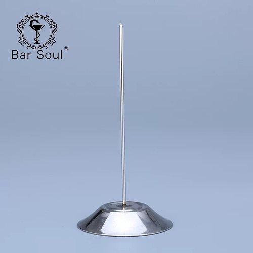 Bar Soul Stainless Steel Straight Rod Paper Memo Holder Bill Fork For Receipt Note Spike Stick Kitchenware Bar Tools