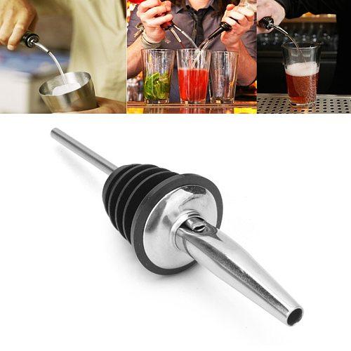 Wine Bottle Pourer Stainless Steel Whisky Liquor Oil Bottle Cap Spout Stopper Mouth Dispenser Bartender Kitchen Bar Accessories