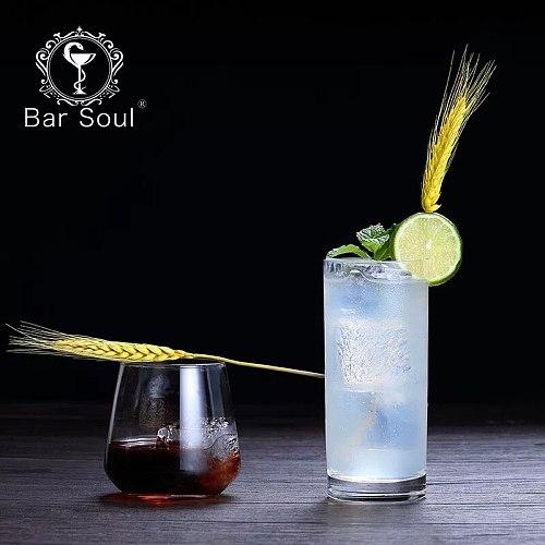 Bar Soul Natural Wheat Spike 100 Pcs Cocktail Decoration Creative Decoration Bar Drinks Decoration
