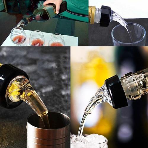 20ml/30ml Quantitative Wine Pourer Alcohol Liquid Dispenser Measuring Oil Bottle Spout Wine Decanter KTV Tool Bar Accessories