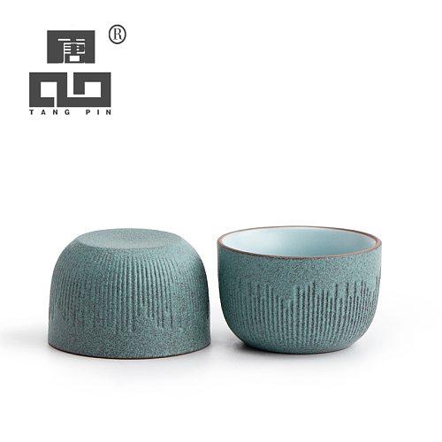 TANGPIN ceramic tea cup green teacups chinese kung fu cup 50ml