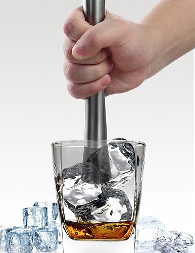 Bar Cocktail Muddler Mojito Stainless Steel Bar Mixer Barware DIY Drink Fruit Muddler Crushed Ice Barware Bar Tool#45