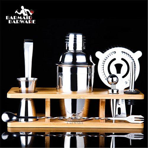 Cocktail Shaker Bar Set Stainless Steel Shaker Cocktail Shaker Cup Shaker Set Bar Set Cocktail Set 350ml/550ml/750ml