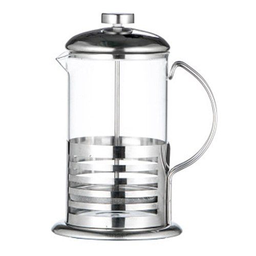 Manual Coffee Espresso Maker Pot Stainless Steel Glass Teapot French Coffee Tea Percolator Filter Press Plunger