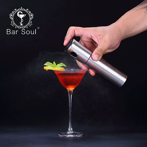 Bar Soul Cocktail Flavoring Bottle Various Colors Spary Bottle Seasoning Bottle Orange Flavor Professional Bartender Tools