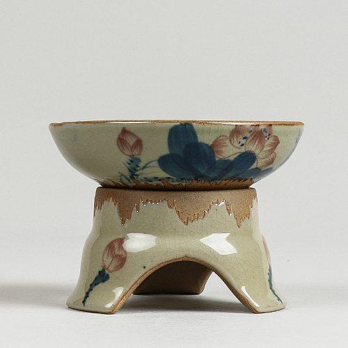 Hand-Painted Chinese ink style Ceramic Tea Strainers tea set  Imitation Antique Kung fu teapot porcelain