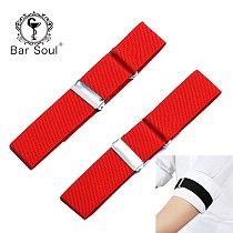 Bar Soul Creative Cloth Sleeve Garter Resilient Armband Exquisite Bartender Trinket Symbol Of Bartender Bundle Up Sleeves