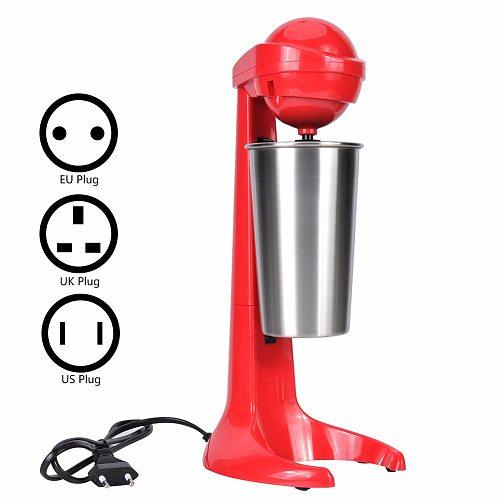 Mixer Double Head Electric Milkshake Machine Maker Coffee Drink Mixer Milk Blender for Home Bar Portable Blender