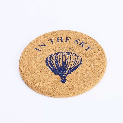 Bar Soul Cocktail Coaster cork coaster Cocktail Decoration Leather Saucer Creative Drink Coasters Bar Tools Frosted Style