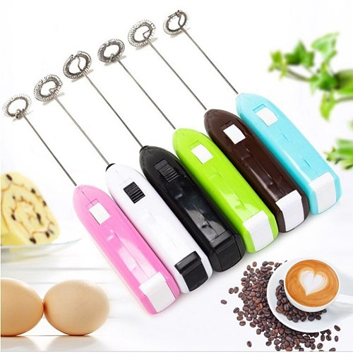 Pancake Ring Fashion Hot Drinks Milk Frother Foamer Whisk Mixer Stirrer Pink ABS Egg Beater 19July2 P30