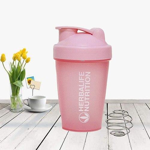 Protein Powder Shaker Milkshake Plastic Cup Water Bottle Fitness Drink Tumblerful Hidro Flask Drinkware