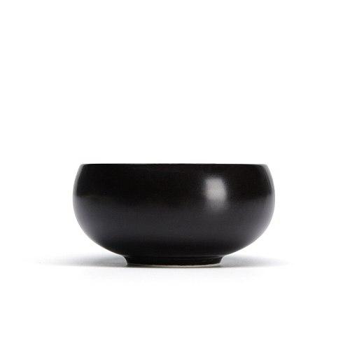 4pcs/lot round shape tea cups matt ceramic glaze cups kung fu teacup set 4 colors host cup Kungfu Tea Cups