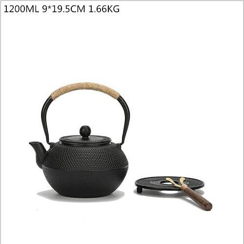 Cast Iron Teapot base tea tray cast iron pot holder pad Japanese kettle boutique metal mattress teapot plate tea mat accessories