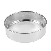 2018 Stainless Steel Mesh  High Quality Flour Sifting Sifter Sieve Strainer Cake Baking Household Kitchen Tools new arrival