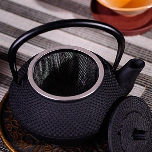 Home Office Small Tea Kettle Ornament Rustproof Cast Iron Teapot Teakettle