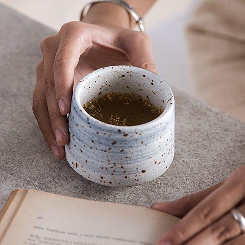 Large Capacity Ceramic Tea Cup Porcelain Teacups Chinese Master Kung Fu Cups 200ml Ceramic Coffee Mug Drinkware