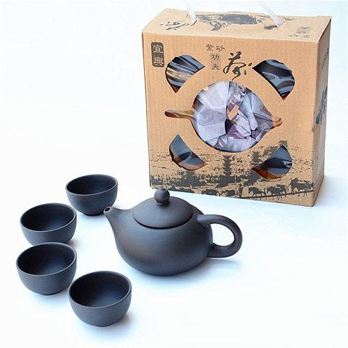 Zisha Teaware Service Chinese Purple Clay Teapot Set Tea Infuser Handmade Teacup Free Shipping