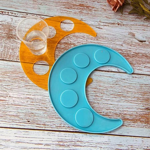 Hot Wine Rack Silicone Molds DIy with  High Temperature Resistant and Easy to Cean