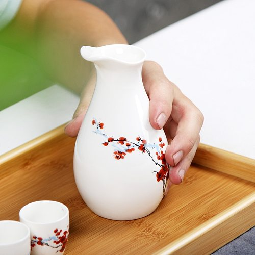 1 Wine Pot 8 Cups In A Gift Box Penguin Flagon Wine Glass Liquor Sober Set Ceramic Pourer Eco-Friendly Ceramic Bar Supplies