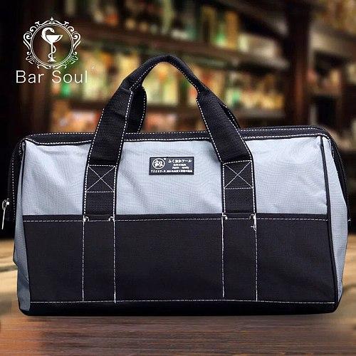 Bar Soul Bartender Tool Kit Specially Designed For Bartender Exquisite Professional Bartender Package Large Storage Space