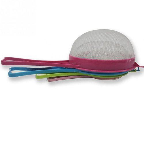 4pcs/set New Kitchen Strainer Sieve Handle Plastic Kitchen Tools Multi Purpose Gadget High Quality Colanders & Strainers