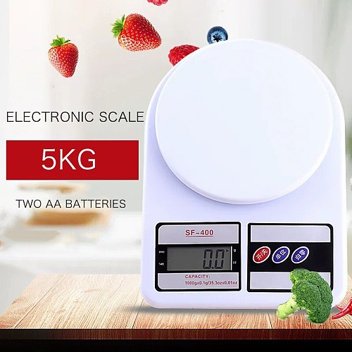 Bar Soul Electronic Scale Accurate FS-400 Weighing Range 5KG Accuracy 1G Battery Powered Kitchenware Bar Tools