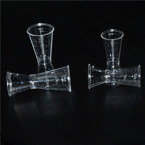 1pc Cocktail Measure Cup for Home Bar Party Useful Bar Accessories Short Drink Measurement Measuring Cup Cocktail Shaker Jigger