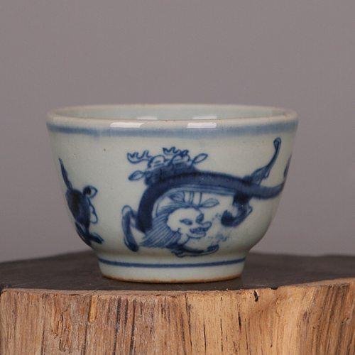 Antique Ceramic tea cup high quality 100ml porcelain Handmade painted teacup Small tea bowl