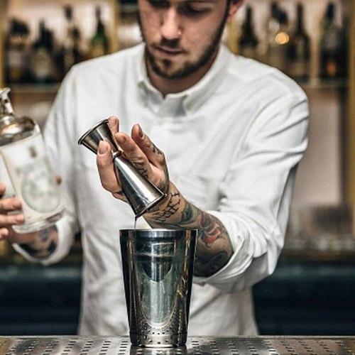 Cocktail Bar Jigger Stainless Steel Measuring Cup Jigger Double Spirit Bartender Bar Wine Jigger Liquo Measuring Kitchen Tools