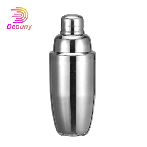 DEOUNY Stainless Steel Bar Cocktail Shaker Mixer Alcohol Muddler Martini Boston Wine Shaker For Bartender Drink Wine Accessories