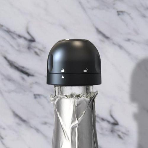 Bottle Stopper Vacuum Retain Freshness Champagne Cap Leak-proof Sealing Wine Beer Bottle Cork Stopper Kitchen Bar Tools Barware