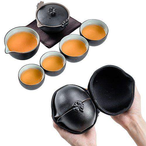 TANGPIN ceramic teapot gaiwan teacup a tea sets portable travel tea set drinkware
