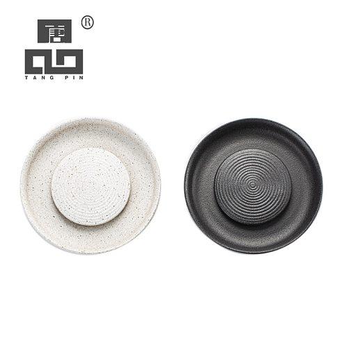 TANGPIN ceramic teapot trivets ceramic teapot holders trays chinese kung fu tea accessories
