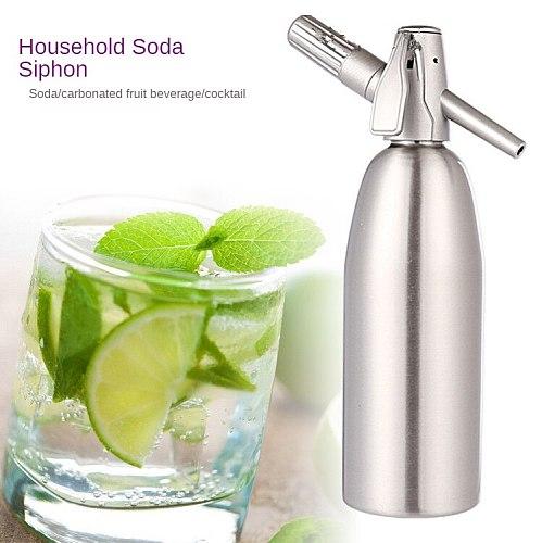 1L Soda Siphon CO2 Dispenser WATER Bubble Generator Cool Drink Cocktail Soda Machine DIY Soda Maker Making Sparking Water