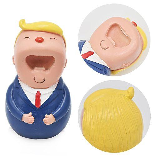 Creative Trump Doll Opener Resin Bottle Opener Bar Beer Openers Accessories Home Kitchen Party Supplies