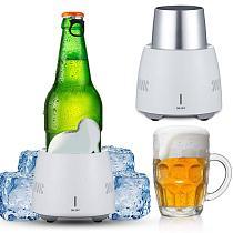 Beverage Fast Cooler Cup Electric Beer Bottle Can Water Soda Drinks Cooling Mug