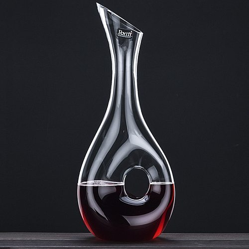 Quality Wine Decanter Design Snail Style Decanter Red Wine Carafe 400ML&1000ML Lead Free Glass Decanter Superior Wine Aerator