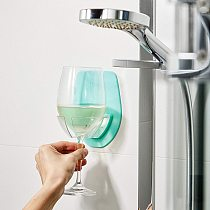 Plastic Wine Glass Holder For The Bath Shower Red Wine Glass Silky Strong Wine Glass Storage Rack Kitchen Rack Hanging Bar Tools