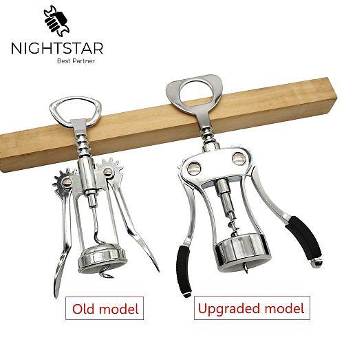 Metal Bottle Opener Red Wine Corkscrew Bottle Handle Opener Corkscrews Essential Tools for Bars