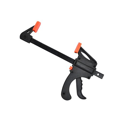 Gadget Tool DIY Hand Woodworking Spreader 4 Inch Quick Ratchet Release Speed Squeeze Wood Working Work Bar F Clamp Clip Kit