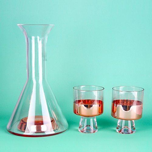 240-1000ml Creative Columnar Slightly Luxury Decanter Multi-Purpose Whisky Vodka Red Wine Cup Electroplating Wine Bottle Jug