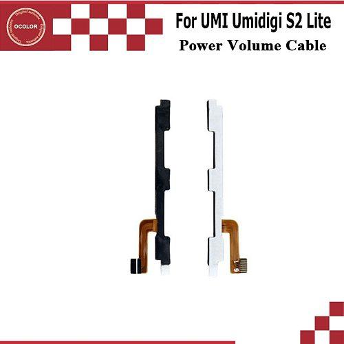ocolor For UMI Umidigi S2 Lite S2 Pro Power Volume Cable For UMI Umidigi S2 Lite Power Button Volume Key Flex Cable Accessories