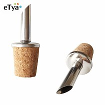 Bottle Wooden Cork Stopper Dry Red Wine Pourers Oil Beer Champagn Flask Bottle Spout Plug Household Cellar Bar Tools 60cm