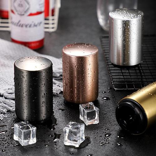 Magnetic Automatic Beer Opener Stainless Steel Bottle Corkscrew Portable Magnet Wine Openers Bar Tools Magnetic Beer Bottle