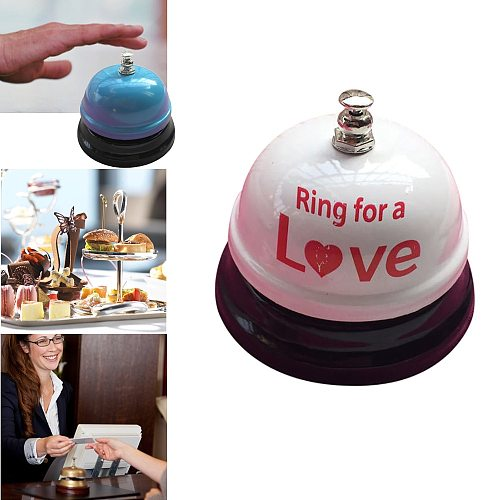 Hotel Counter Desk Bell Ring Metal Reception Restaurant Kitchen Bar Service Call Classic Service Concierge Hotel bell