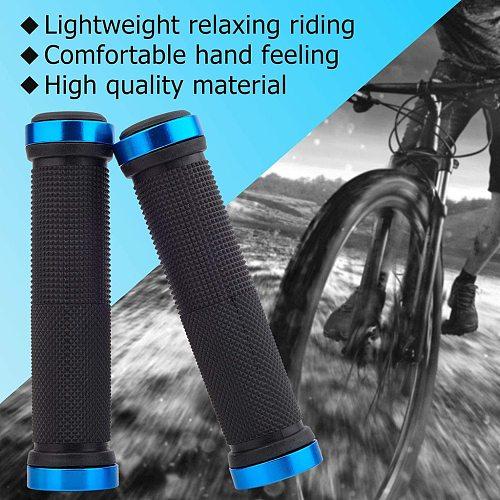 2PCs  Bicycle Handlebar Grips Cycling Bicycle Accessories Non-slip Bicycle Handlebar Grips MTB Bike Handle bar Grips #40