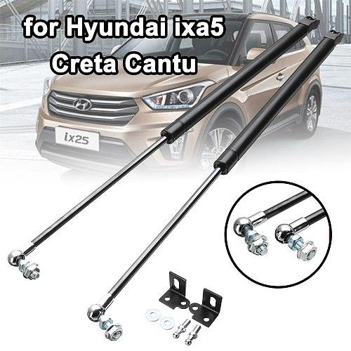 Car Front Bonnet Hood Modify Gas Struts Lift Support Shock Damper Bars Car Accessories For Hyundai ix25 for Creta Cantu Absorber