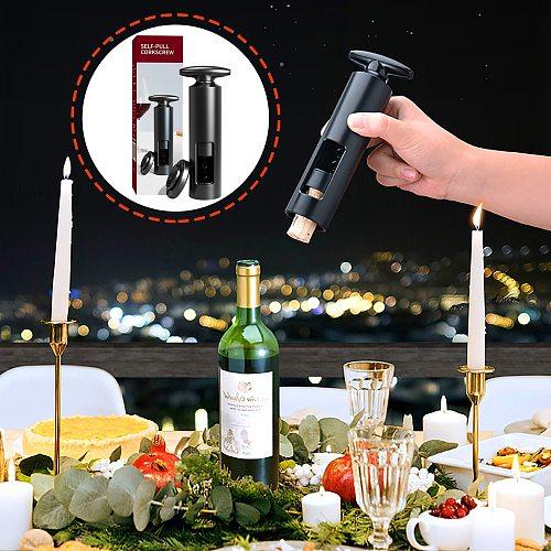 New Red Wine Manual Bottle Opener Kitchen Tool Sparkling Wine Simple Opener Seahorse Knife Bottle Corkscrew Corks Openers #41