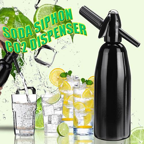 Soda Siphon CO2 Dispenser WATER Bubble Generator Cool Drink Cocktail Soda Machine DIY Soda Maker Making Sparking Water for Juice