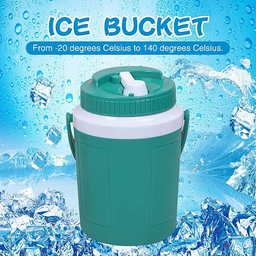 Handle Ice Bucket Beer Heat And Cold With Lid Fishing Multipurpose Outdoor Camping Container Car Insulated Barrel Food Summer